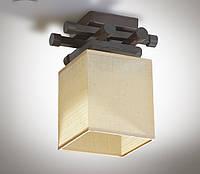 Люстра металлическая, с деревом, спальня, зал, кухня, гостиная 14910-3