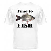 Футболка Time to fish