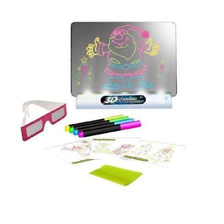 Доска для 3D рисования Toy Magic 3D, 3д рисунок, рисовать в 3д, развивающая игрушка, фото 2