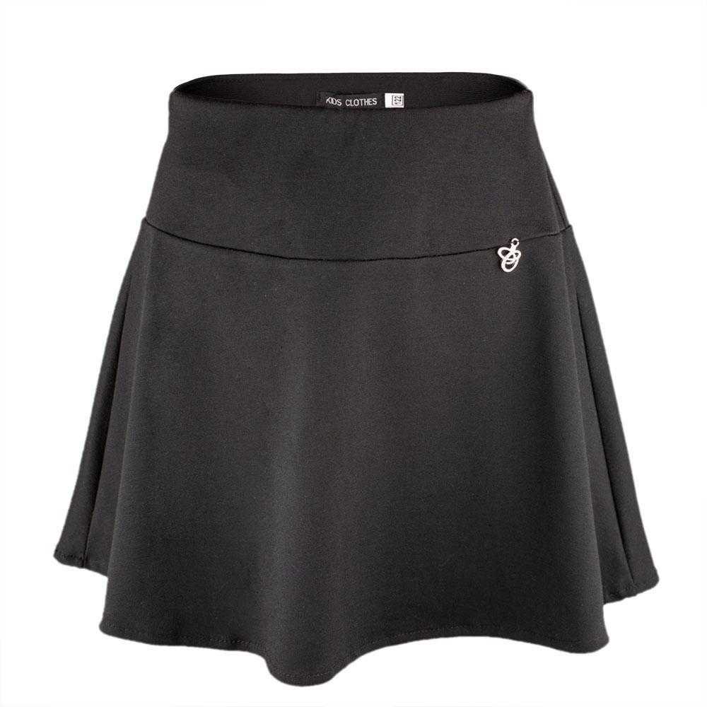 Юбка для девочек Kidsmod 122  чёрный 980344