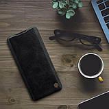 Nillkin Xiaomi Mi CC9 Pro/ Note 10/ Note 10 Pro Qin leather Black case Кожаный Чехол Книжка, фото 5