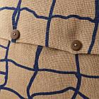 Наволочка на подушку IKEA VÄRMER джут синий 50x50 см 804.409.86, фото 4