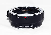 Переходник EF, EF-S - NEX (автофокусный) (E-mount) для камер SONY NEX-3, 5, 6, 7, A5000, A6000, A7, A7 II