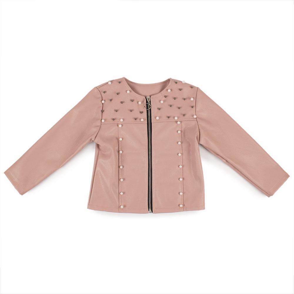 Куртка демисезонная для девочек Fashion 122  серебро 8766