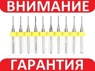 Сверла твердосплавные 1мм для печатных плат Union Tool