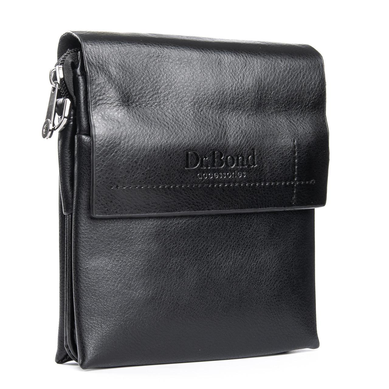 Сумка Мужская Планшет иск-кожа Dr. Bond GL 206-0 black