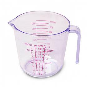 Мерный пластиковый стакан Kamille KM-7719