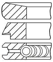 Комплект колец на поршень FORD C-MAX (DM2) / FORD TOURNEO CONNECT 1998-2013 г.