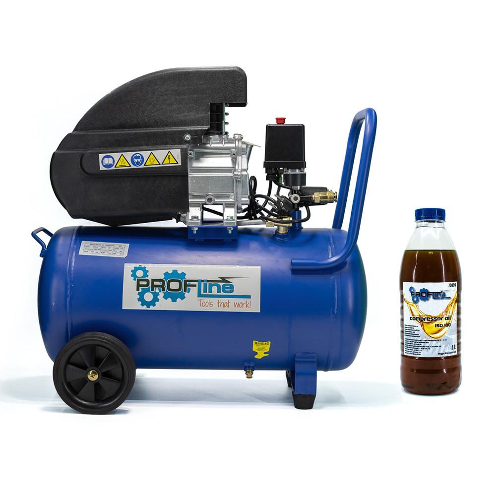 Компрессор поршневой 50 литров 1.5 кВт 196 л/мин Profline BDM-50-2HP