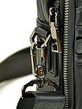 Сумка Мужская Планшет кожаный BRETTON BE 407-42 black, фото 2