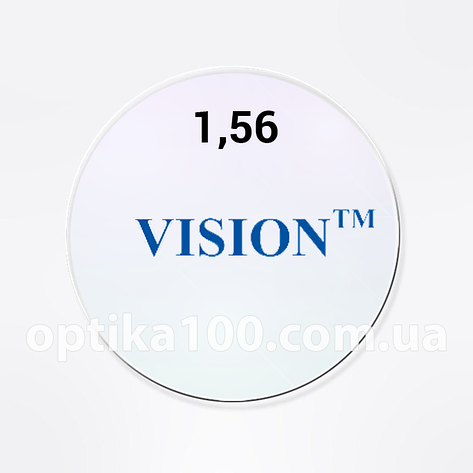 Астигматическая линза для очков VISION 1,56 HMC+EMI+UV400. Корея с антибликом, фото 2