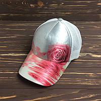 Кепка с сеткой - pink rose, фото 1