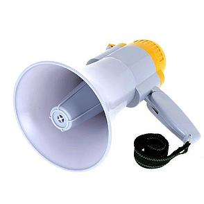 Мегафон громкоговоритель ручной MEGAPHONE HW 8C, рупор, фото 2