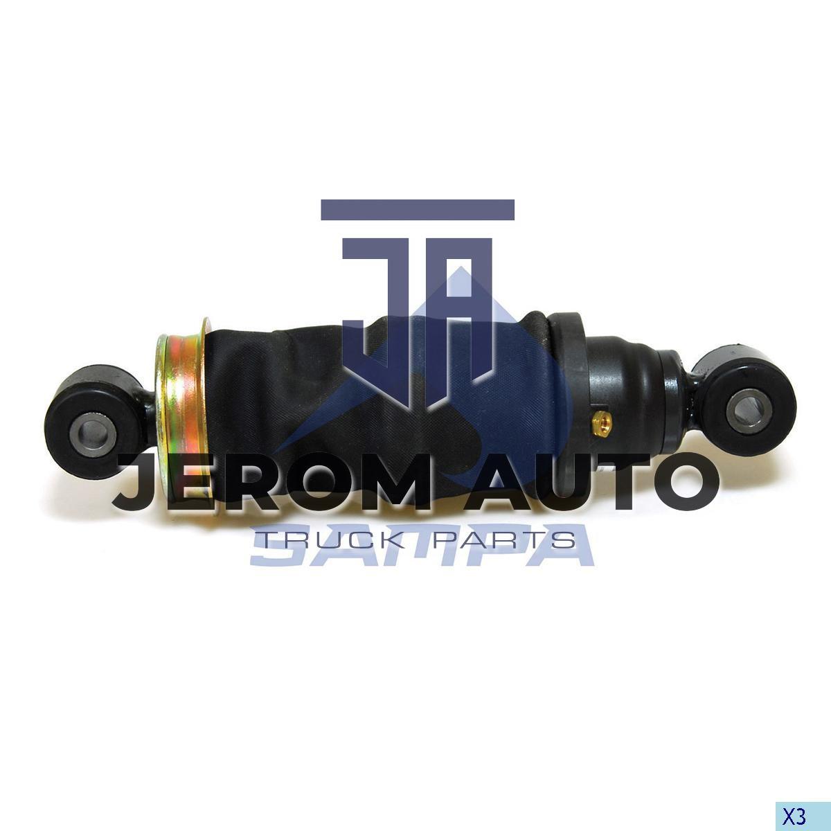 Амортизатор кабины Mercedes Actros (L283-323) задний с пневморесс. \9428906119 \ 011.323