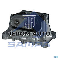 Подушка двигателя/КПП задняя Mercedes (M14x1,5/M18x1,5/200x100x50x123,5) \9412417713 \ 011.398