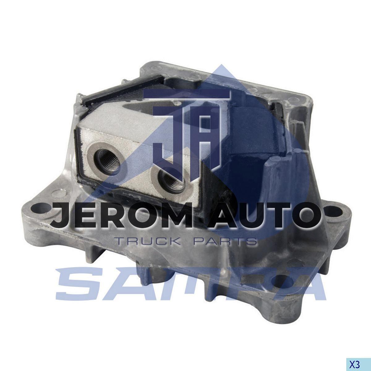 Подушка двигателя Mercedes (M14x1,5/M18x1,5/200x100x50x124) \9412417113 \ 011.427