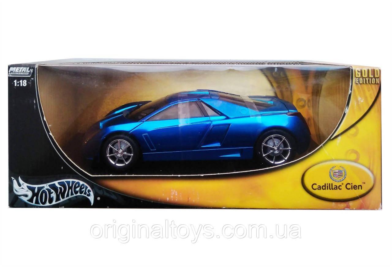 Коллекционная модель Hot Wheels 1:18 Cadillac Cien