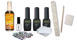 Стартовый набор Viko Professional для покрытия гель-лаком без лампы