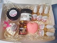 Подарочный бокс натуральные масла и сладости