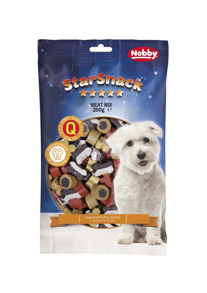 Лакомство для собак мясной микс 200г, Nobby