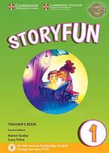 Storyfun Second Edition 1 (Starters) Teacher's Book with Downloadable Audio / Книга для учителя