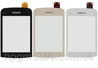 Сенсорный экран для Nokia C2-02, C2-03, C2-06, C2-07, C2-08
