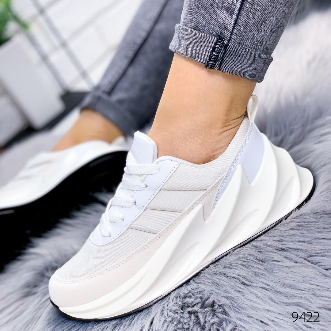 Кроссовки женские в стиле Adidas Sharks адидас шаркс белые