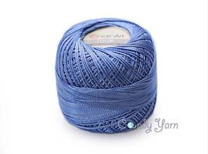 YarnArt Tulip, Синий дождь №464