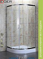 Душевая кабина EGER TOKAI без поддона (стёкла+двери), 90*90*185см