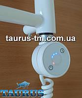 Белый электроТЭН TERMA DRY White в полотенцесушилку: управление + таймер 1-5 часов + LED подсветка. Польша 1/2