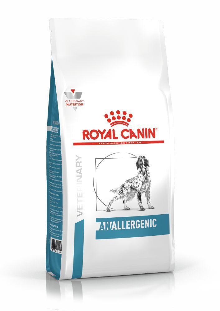 Сухой корм для собак Royal Canin Anallergenic при пищевой аллергии/непереносимости 3 кг