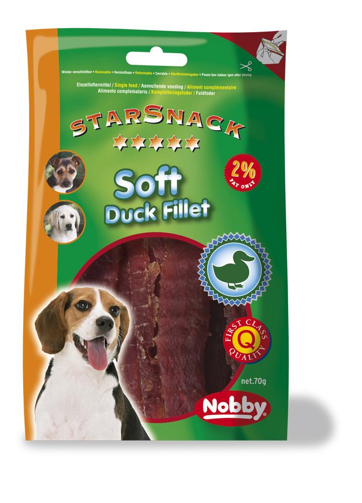 Лакомство для собак с уткой Soft Fillet  70г, Nobby
