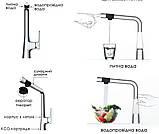 Змішувач для кухні Smart Bio ZMK051901150 з підключенням питної води, фото 3