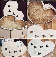 Подарочная коробка-сердце