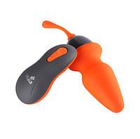 Анальная пробка с пультом управления Maia Toys Remote Control Vibrating Butt Plug