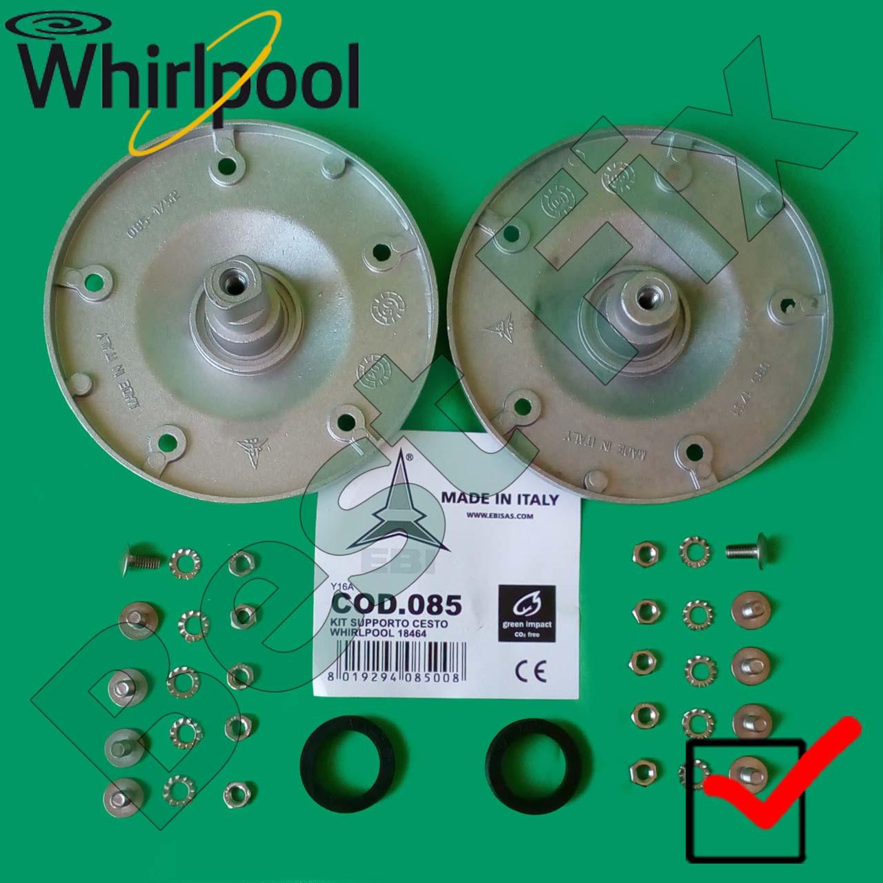 Опоры барабана Whirlpool Италия (подлинник) для стиральной машины