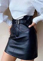 Модная кожаная юбка Lester