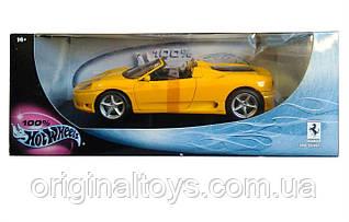 Колекційна модель Hot Wheels 1:18 Ferrari 360 Spider