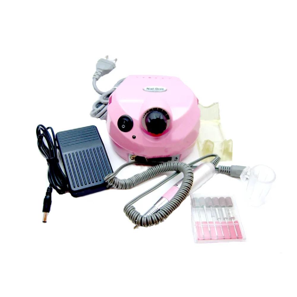 Фрезер US-202 35 тыс.об/мин для маникюра и коррекции ногтей, машинка для ногтей, фрезер для ногтей