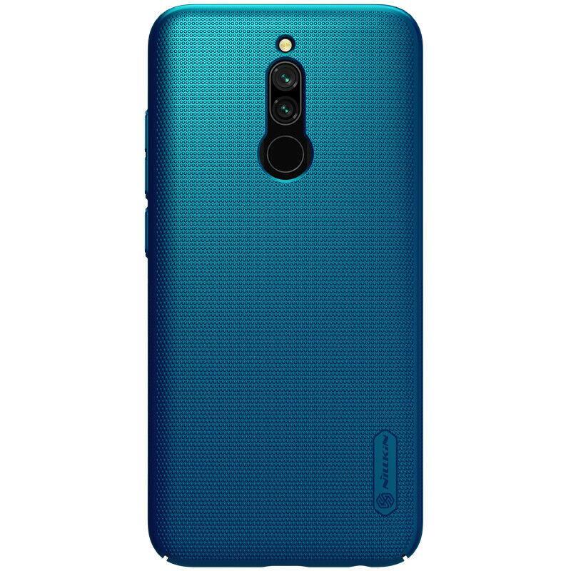 Nillkin Xiaomi Redmi 8 Frosted Shield Blue Чехол Накладка Бампер