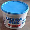 Краска акриловая  снежно-белая для стен и потолков Ultra-Бiel (Ультра белая) Sniezka  (14 кг)