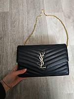 Женская сумка Yves Saint Laurent Ив Сен Лоран черная 41