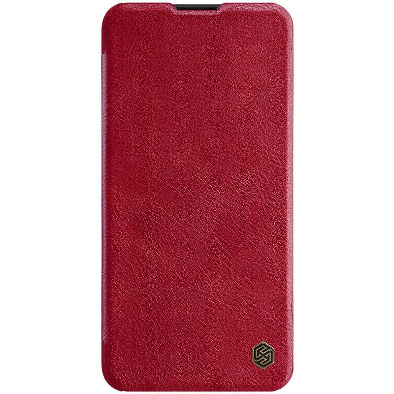 Nillkin Xiaomi Redmi 8 Qin Red leather case Шкіряний Чохол Книжка