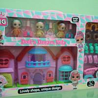 Игрушечный домик с куколками L.O.L. 5585A-6