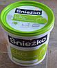Краска акриловая  гипоаллергенная для стен и потолков EKO Sniezka  (1,4 кг)
