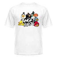 Футболка Команда angry birds
