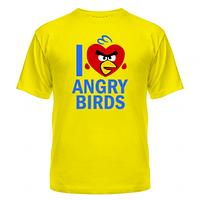 Футболка I love Angry Birds, фото 1