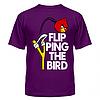 Футболка Flipping the bird