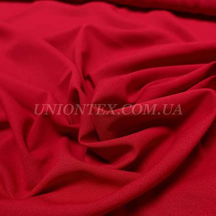 Ткань креп-шифон красный, фото 2
