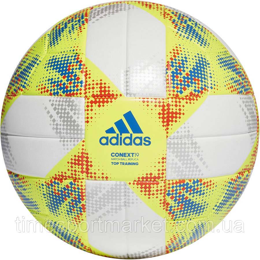 Мяч футбольный Adidas Conext 19 Top Training DN8637 размер 5 (оригинал)